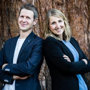 Christoph Kreinbucher und Lina Hölscher