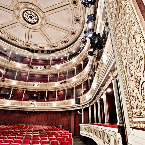 Der Bühnenraum des HAUS EINS im Schauspielhaus Graz, Copyright Lupi Spuma